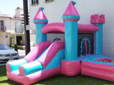 castillo inflable para ninas