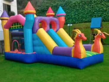 renta de inflables para fiestas de niñas