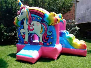 fiestas con inflables infantiles
